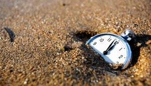 When does time lose Its path?